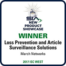 SIA New Product Showcase Winner, ISC West 2017