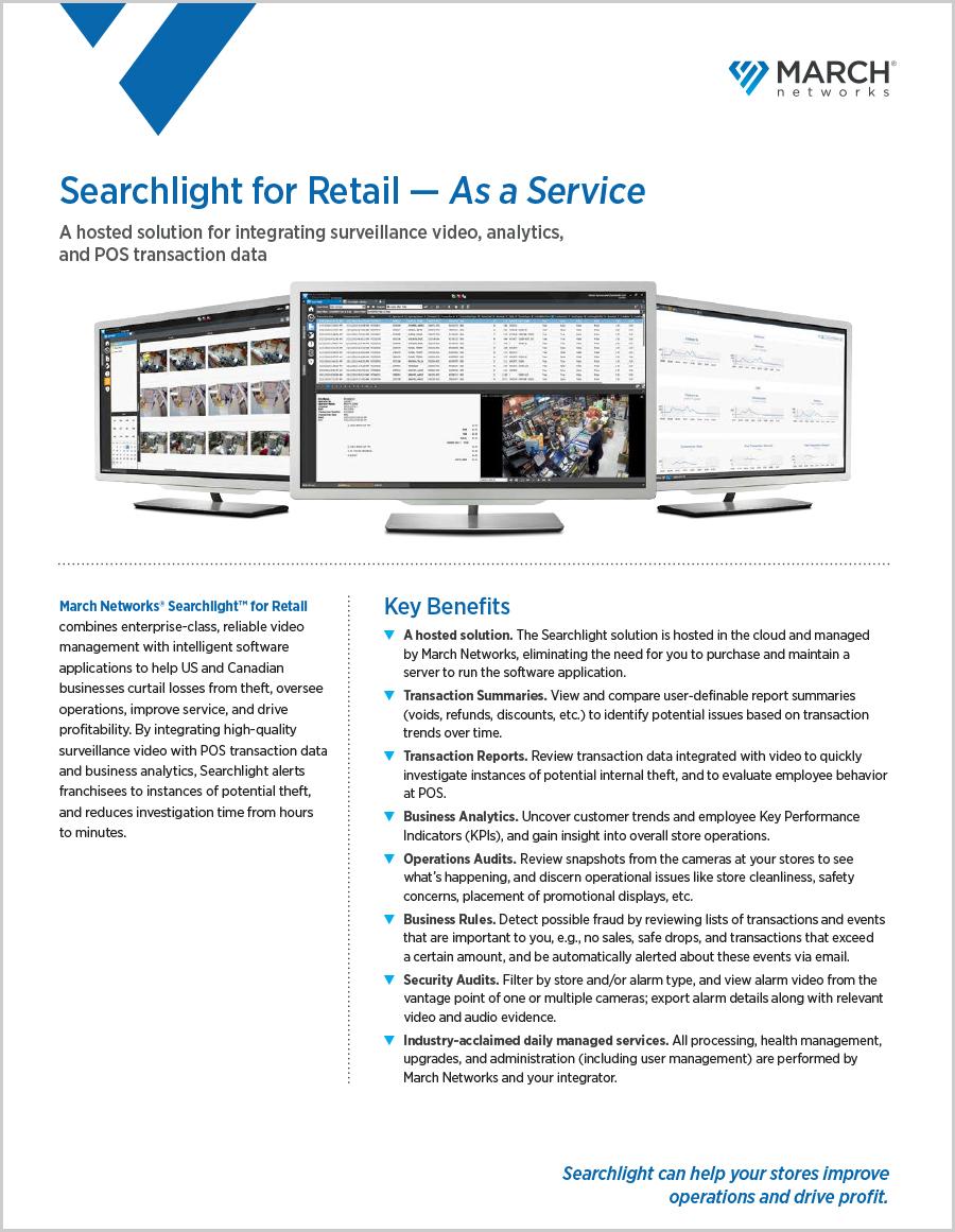 Searchlight for Retail Datasheet